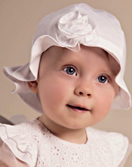 kapelusz do chrztu Aurelia