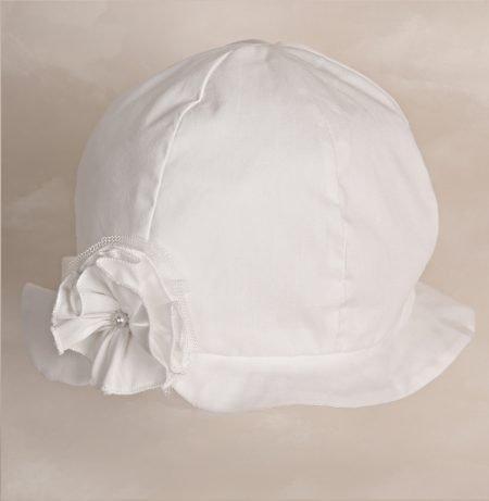 kapelusz do chrztu Maja