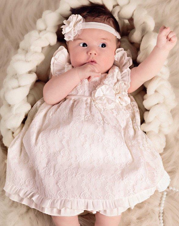 sukienka do chrztu Maja