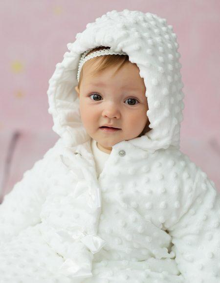 płaszcz Lilka – biały