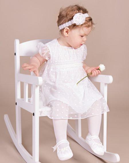 sukienka do chrztu Nikola