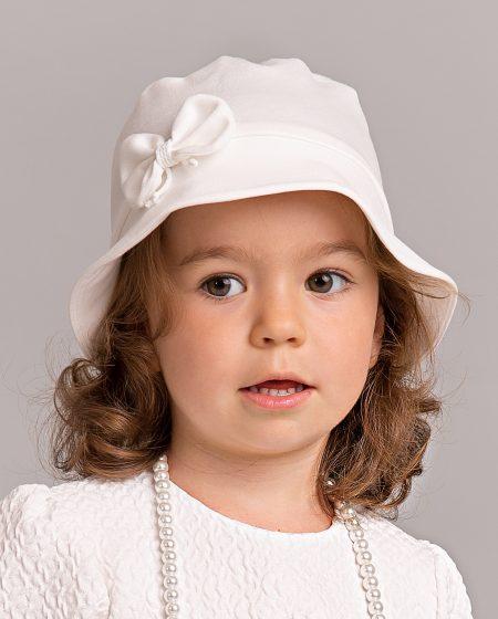 kapelusz do chrztu Dominika