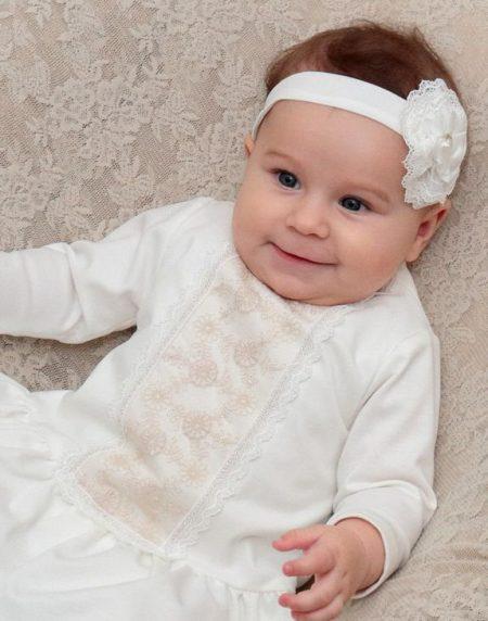 suknia do chrztu Laura 1